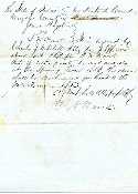 Waul, Thomas autographed document