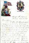5th New Hampshire Infantry George Hersum letter
