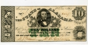 CSA Alabama $10.00 Note