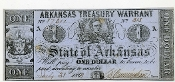 CSA Arkansas $1.00 Note