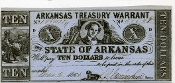 CSA Arkansas $10.00 Note