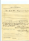Buckland, Ralph war date document signed, 55th U.S. Colored Inf.