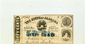 CSA Alabama 50 c Note