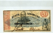 CSA Louisiana $20. Note