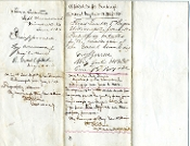 Greene, George war date autographed document