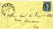 CSA cover addressed to Genl. Daniel Ruggles and docketed by him