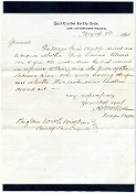 McClellan, Henry  ANV, Cavalry Corps imprint autographed letter