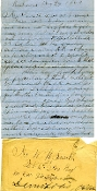 CSA 2nd Missouri Infantry soldier's letter/ Richmond, VA