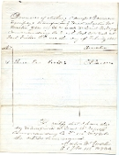 115th New York Infantry document/ Fort Fisher,NC