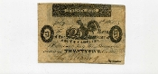 CSA South Carolina 25 c Note, 1861, VF