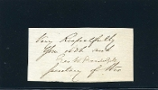 Randolph, George war time autograph