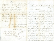 12th MA soldier's letter/ Spotsylvania/ Negroes fighting