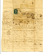38th Alabama Infantry soldier's letter/ Chattanooga, TN