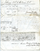 Gregg, David 1863 document signed
