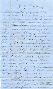 44th North Carolina Infantry soldier's letter