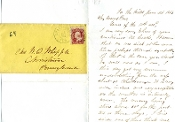 Whipple, William autograph letter signed/ Atlanta campaign