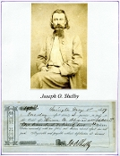 Shelby, Joseph autographed promissory note