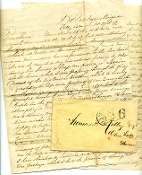 169th New York Infantry soldier's letter/ Folly Island,SC
