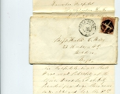 1st Minnesota Infantry soldier's letter/ wounded Petersburg