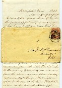 72nd Illinois Infantry soldier's letter/ Vicksburg campaign