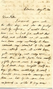 7th Georgia Cavalry soldier's letter /Hampton's Division