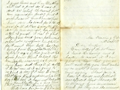 17th Vermont Infantry soldier's letter/ Petersburg, VA