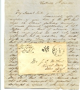 5th South Carolina Infantry soldier's letter with cover
