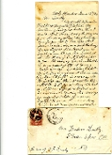 96th New York Infantry soldier's letter/ Cold Harbor
