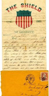 8th Pennsylvania Cavalry soldier's letter