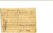 42nd Virginia Infantry document/ Officers WIA-Gettysburg