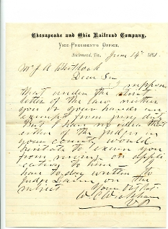 Wickham, William autographed letter signed