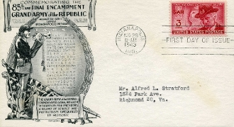 GAR Final Reunion First Day Cover