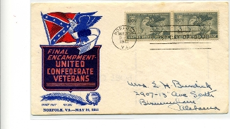 UCV Final Reunion First Day Cover