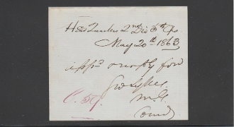 Sykes, George wardate autograph