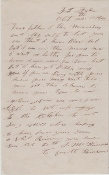 2nd North Carolina Light Artillery soldier's letter/ Fort Fisher