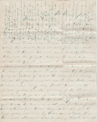 126th Ohio Infantry soldier's letter/ Bristoe Station campaign