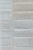4th South Carolina soldier's letter/ MWIA Frayser's Farm, VA