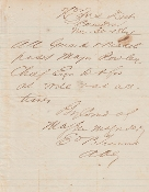 Confederate Document Pass/ Camden. AR