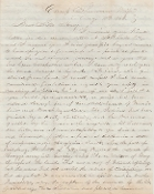 103rd Illinois Infantry soldier's letter/ Camp Sherman, MS