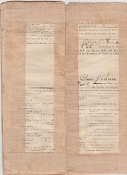 Paine, Charles Muster Roll signed/ Baton Rouge, Louisiana