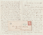 Whipple, William autograph letter signed/ Chattanooga, Tennessee