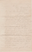 Lee, William H. F. war date autograph letter signed