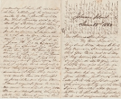 8th Kentucky Infantry soldier's letter/ Johnson's Island Prison