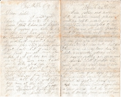 76th Ohio Infantry letter/ Two brothers write home