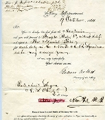 Welles ,Gideon document  signed plus 3 other naval officers