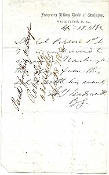 Wadsworth, James autograph letter/ KIA Wilderness