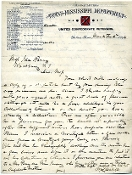 Cabell, William autograph letter signed