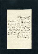 Shelley, Charles autograph letter signed