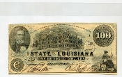 CSA Louisiana $100. Note
