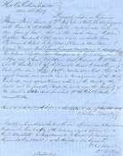 Harker, Charles document signed